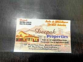 90 sq yard Commercial cum residential at Durga Puri haibowal kalan