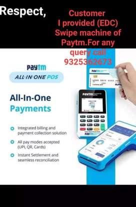 Paytm swipe machine