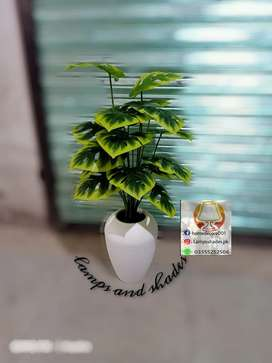 Green artificial plants available here