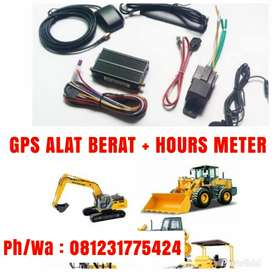 Gps Tracker alat Berat + Gps tracking Fitur Sensor Hours Meter