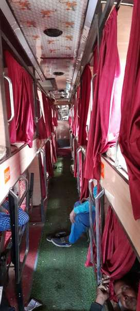 Well maintain AC sleeper bus 32sleeper & 8 chair with new AC and paint