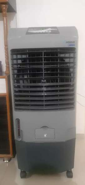 Blue Star Air cooler with new purchases,
