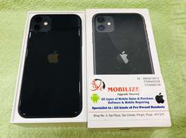 iPhone 11 Black 64GB Only 10 Days Used In Brand New Condition.