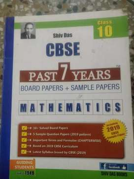 Maths and science past 7 years dample paper for boards