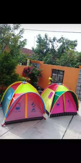 Tenda anak , kemah anak , tenda dome