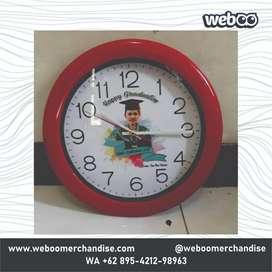 Jual Aneka Jam Dinding Custom Untuk Souvenir