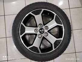 velg oem Mitsubishi Xpander type Croos R 17x6, et 48 pcd 5x114 dan ban