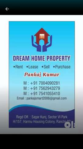 2bhk semi furnished flat for rent in lalpur near dr s n yadav for fami