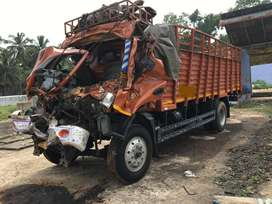 Ashok leyland boss 1412 rc book and accident lorry