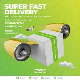 Dvago Pharmacy Requied Delivery Rider