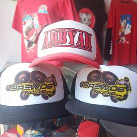 Topi custom disain suka2