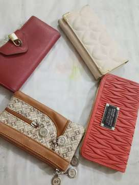 Ladies wallets/pouch for sale