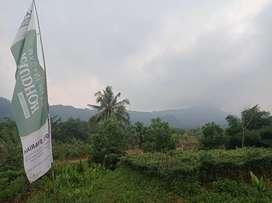 Tanah Kavling Murah View Pegunungan Menempel Jalan Raya Transyogi