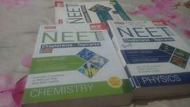 Complete NEET MTG Chapterwise - topicwise. Phy, chem, bio  3 books