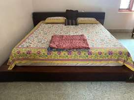 Sold wood cot for sale
