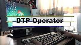 Designer cum DTP operator