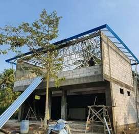 Rangka atap baja ringam