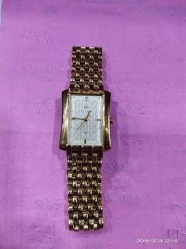 Titan sonata golden watch for men