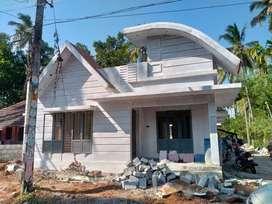 Thrissur, Vellanikkara, 3bhk stylish new villa in 4.500 cent