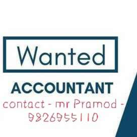 Wanted accountant