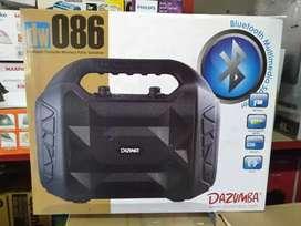 cus gratisantr spiker speaker portable bluetooth karaoke dazumba dw086