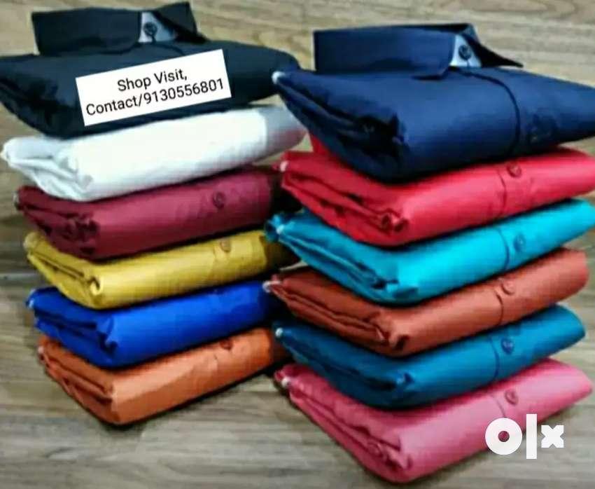 Standard Fashionable A1 Quality Cotton Shirt 0