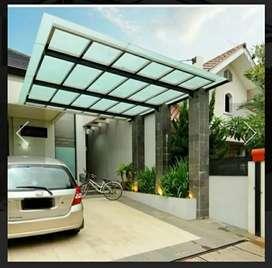 Canopy kaca bagus dan keren bos
