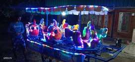 kereta panggung nemo playground taman becak cinta odong