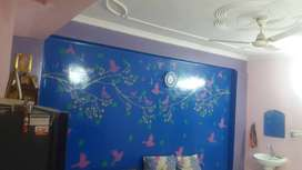 2 BHK SEMI FURNISHED WELL VENTILATED AND BEAUTIFUL FLAT