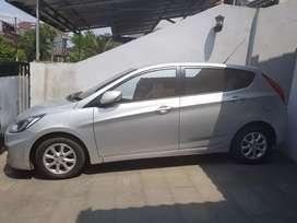 Hyundai grand avega facelift 2011 silver matic