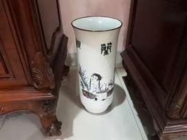 Vas/Pot Bunga Kuno Dove Akstrak Cina