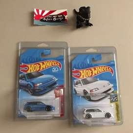 Hotwheels Civic EF paketan