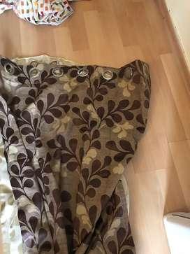 Silk  door curtain