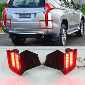 Lampu belakang bumper(rear bummper lamp) pajero sport 2016 led
