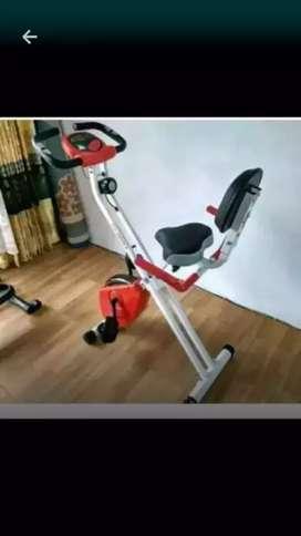 Buduran fitness x.bike lipat multifungsi
