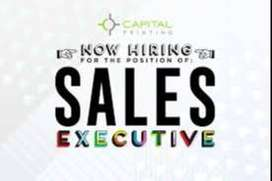 SALES and MARKETING EXECUTIVES NEEDED