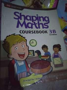 Buku sekolah international all in English, math, science