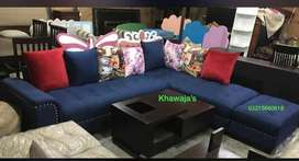 A Available Brand new sofa L shape ( khawaja's Fix price shop
