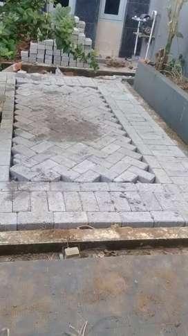 Jasa pemasangan paving blok