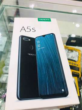 Oppo A5s 3/32 condition 10/10 with full box