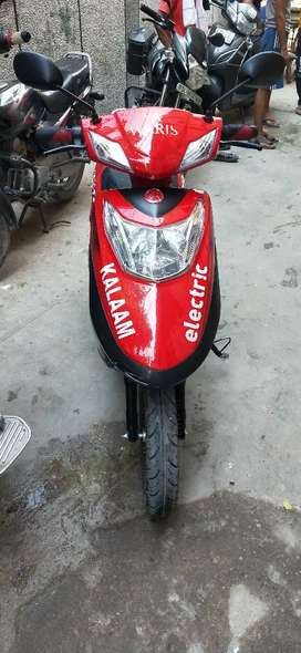 Electric Scooty New 16.07.20 with insurence. No number plate require.
