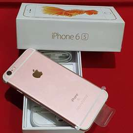 NEW BOX APPLE IPHONE 6S 128GB ROSE GOLD