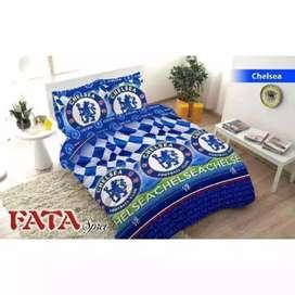 Bedcover Set Merk FATA Motif FOOTBALL CLUB