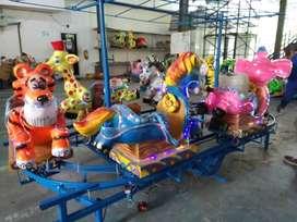 odong kereta panggung animal DCN labirin run mainan persewaan