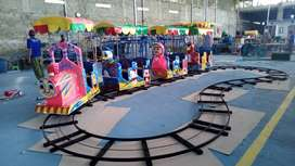 AR odong2 kereta rel lantai diskon kereta mini pabrik mainan usaha