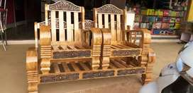 Wooden sofa .3+2 sath .all type model available.