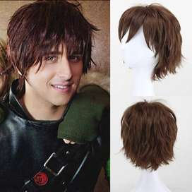 Short Curly Hair Wig For Men,s