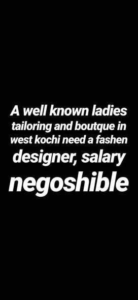Fashion designer wanted