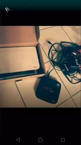 Set top box indicom+ reuter zte
