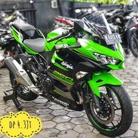 Kawasaki Ninja 250 KRT Edition 2019, Kilometer 5rb Mustika Motoshop